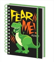 Toy Story 4 - Rex Fear Me Notebook