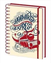 Harry Potter - Aboard The Hogwarts Express Notebook