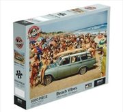 Holden Beach Vibes 1000 Piece Jigsaw Puzzle