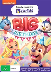 Nick Jr.'s Big Birthday Bash | Starlight Foundation | DVD