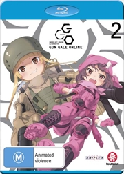 Sword Art Online Alternative - Gun Gale Online - Vol 2 - Eps 7-12 | Blu-ray