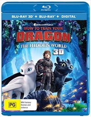 How To Train Your Dragon - The Hidden World | 3D + 2D Blu-ray