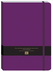 RK Journals - Deep Purple Large Pu Journal | Merchandise