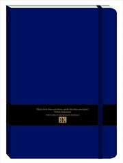 RK Journals - Midnight Blue Large Pu Journal | Merchandise