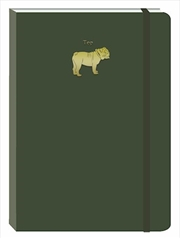 Dog Dark Green Motif Journal | Merchandise