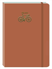 Bike Fawn Motif Journal