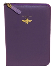 Purple Bee Gold Zip/Tassel | Merchandise
