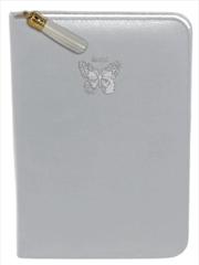 Silver Butterfly Zip/Tassel | Merchandise