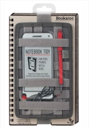 Notebook Tidy Charcoal | Merchandise