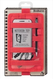 Notebook Tidy Red | Merchandise