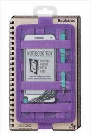 Notebook Tidy Purple | Merchandise