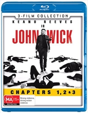 John Wick / John Wick - Chapter 2 / John Wick - Chapter 3 - Parabellum | Blu-ray