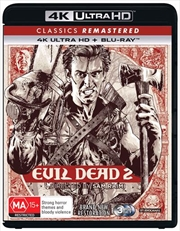 Evil Dead II - Dead By Dawn - Remastered | Blu-ray + UHD