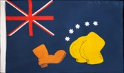 Simpsons - Bart V Australia Replica Flag