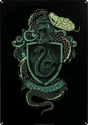 Harry Potter - Slytherin A3 Tin Sign