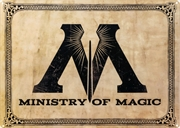 Harry Potter - Ministry of Magic A3 Tin Sign