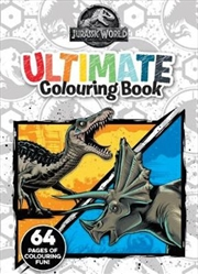 Jurassic World: Ultimate Colouring | Paperback Book