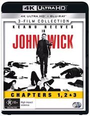 John Wick / John Wick - Chapter 2 / John Wick - Chapter 3 - Parabellum | Blu-ray + UHD - Franchise P