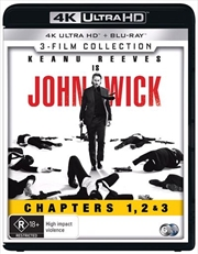 John Wick / John Wick - Chapter 2 / John Wick - Chapter 3 - Parabellum | UHD