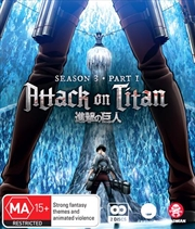 Attack On Titan - Season 3 - Part 1 - Eps 1-12 | Blu-ray