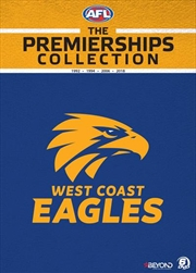 AFL  - The Premierships Collection - West Coast Eagles | DVD