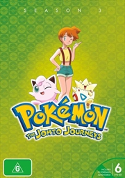 Pokemon - Johto Journeys - Season 3 | DVD
