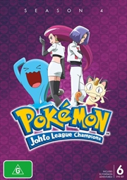Pokemon - Johto League Champions - Season 4