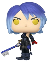 Kingdom Hearts 3 - Dark Aqua with Keyblade US Exclusive Pop! Vinyl [RS]