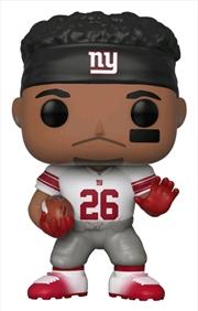 NFL: Giants - Saquon Barkley US Exclusive Pop! Vinyl [RS]