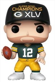 NFL: Packers - Aaron Rodgers SB Champions XLV Pop! Vinyl | Pop Vinyl