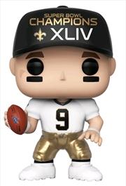 NFL: Saints - Drew Brees SB Champions XLIV Pop! Vinyl | Pop Vinyl