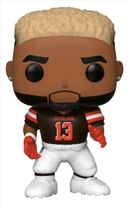 NFL: Browns - Odell Beckham Jr Home Jersey Pop! Vinyl