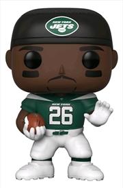 NFL: Jets - Le'Veon Bell Home Jersey Pop! Vinyl