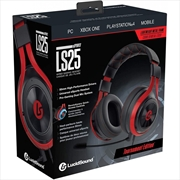 Lucidsound Ls25 Esports Wired Red/Blk Gaming Headphones | Accessories