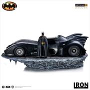 Batman 1989 - Batmobile & Batman 1:10 Scale Statue | Merchandise