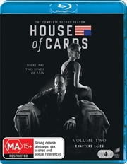 House Of Cards - Season 2 | Blu-ray