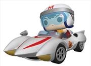 Speed Racer - Speed with Mach 5 Pop! Ride | Pop Vinyl