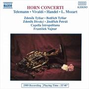 Telemann/Vivaldi/Handel/Mozart | CD