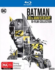 Batman - 80th Movie - Collection | Blu-ray