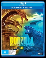Godzilla 2 - King Of The Monsters | Blu-ray 3D