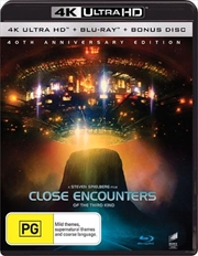 Close Encounters Of The Third Kind - 40th Anniversary Edition | Blu-ray + UHD