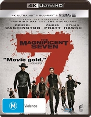 Magnificent Seven | Blu-ray + UHD + UV, The