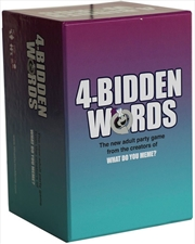 4 Bidden Words | Merchandise