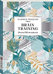Classic Puzzles Brain Training | Paperback Book