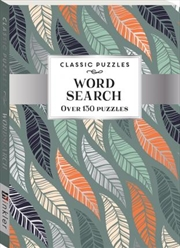 Classic Puzzles: Word Search Leaves (pack 2) | Paperback Book