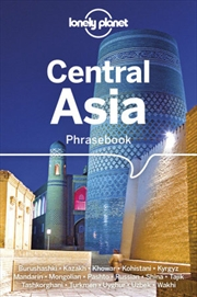 Lonely Planet Central Asia Phrasebook & Dictionary | Paperback Book