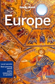 Lonely Planet Europe Travel Guide | Paperback Book