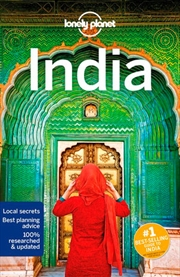 Lonely Planet India Travel Guide | Paperback Book