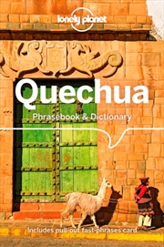 Lonely Planet Quechua Phrasebook & Dictionary | Paperback Book