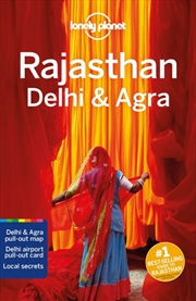 Lonely Planet Rajasthan, Delhi & Agra Travel Guide | Paperback Book